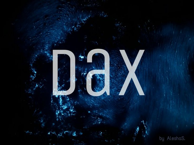 Dax / French: water