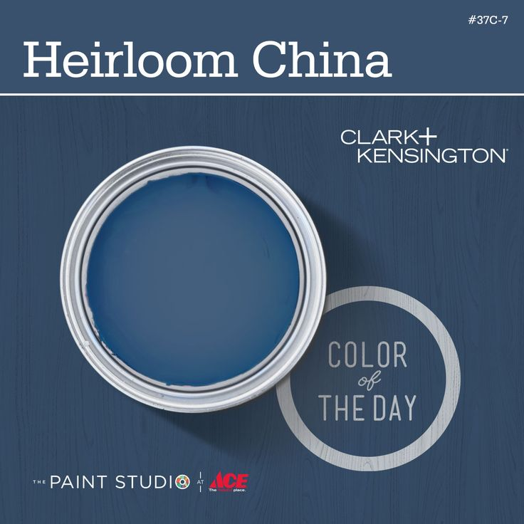 Color of the Day: Heirloom China by #ClarkandKensington #31DaysOfColor #paint #inspiration #thepaintstudio