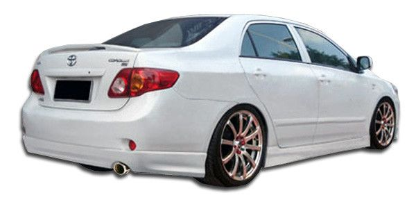 2009-2010 Toyota Corolla Duraflex GT Sport Rear Lip Under Spoiler Air Dam - 1 Piece (clearance)