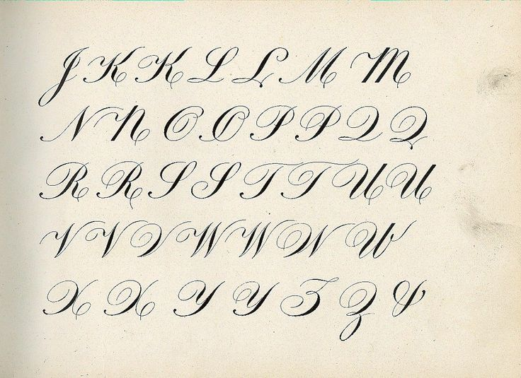 Best copperplate alphabet images on pinterest
