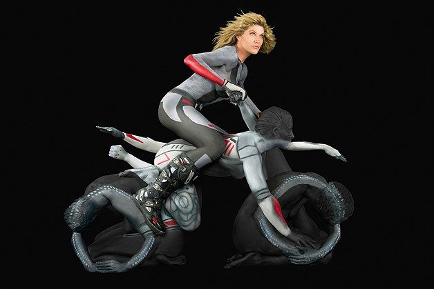 naked women form motorcycle