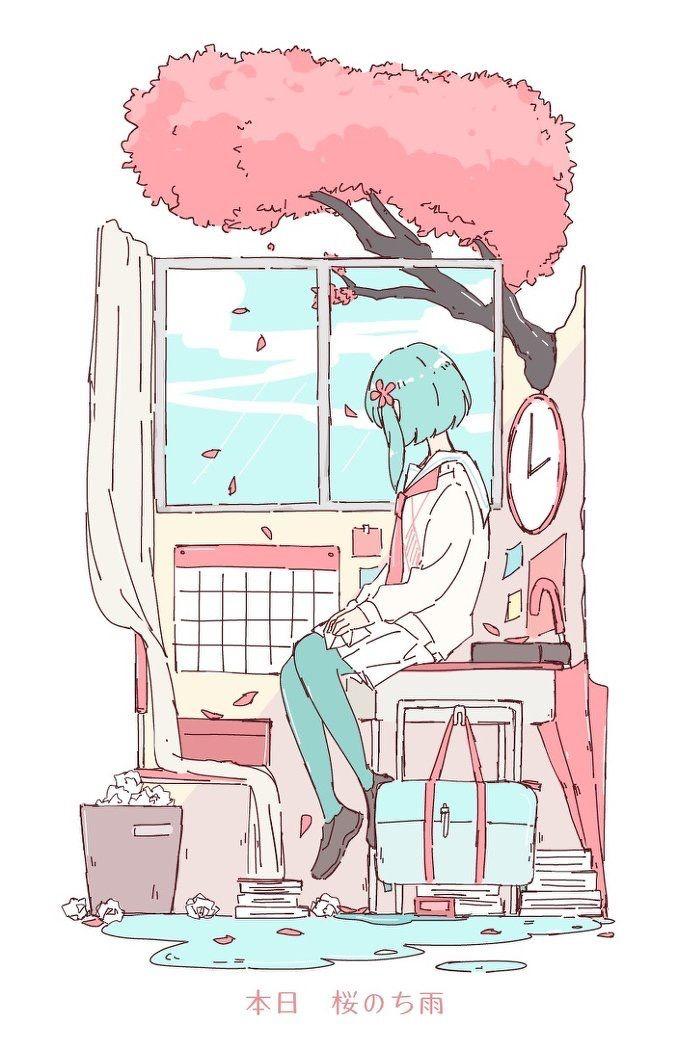Pin By Chelsan On Art Anime Art Kawaii Art Aesthetic Anime