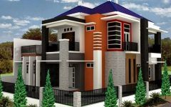 Front Elevation Of Small House In Punjab With House Paint Ideas