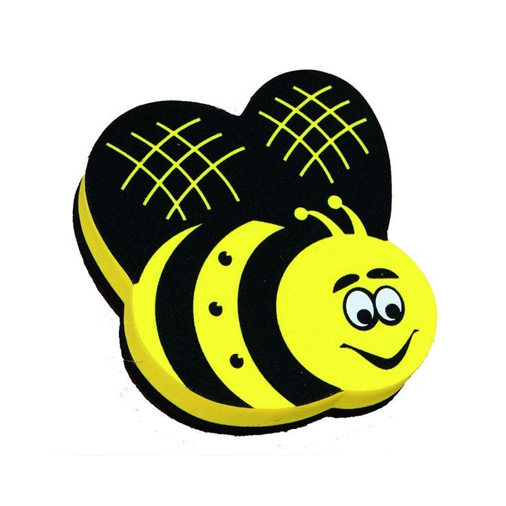 MAGNETIC WHITEBOARD ERASER BEE