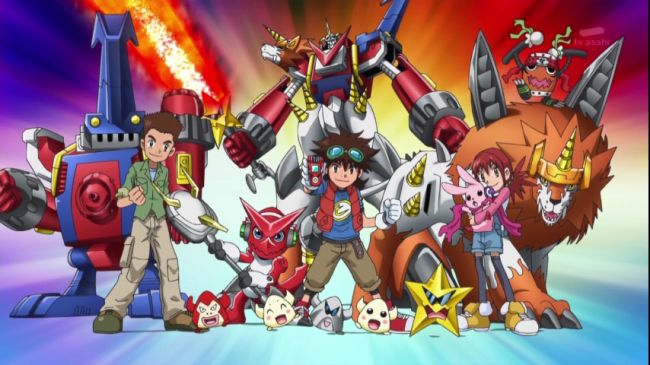Digimon Fusion Joins Vortexx on CW! Free Activity Sheet Printables