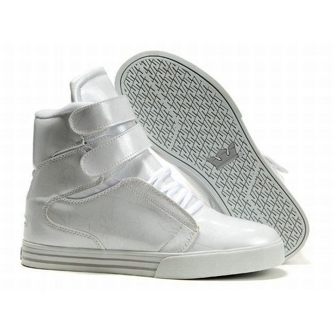 Supra TK Society High Tops All White Men's. Shoes For Sale OnlineWhite ...
