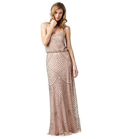 Adrianna papell beaded gown dillards adrianna papell for Cocktail x35