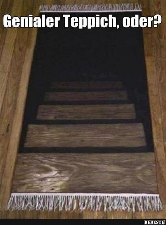 Genialer Teppich, oder?