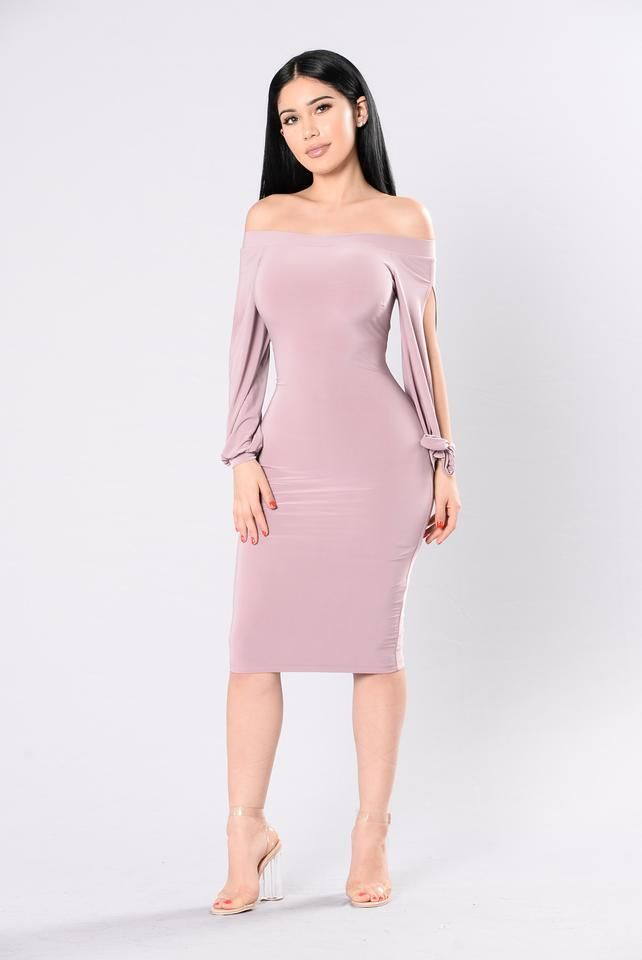 Body Rock Dress - Mauve