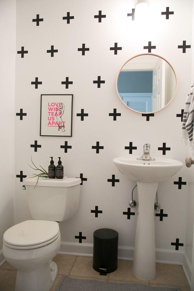 25 best rental bathroom ideas on pinterest small rental for Design your own small bathroom