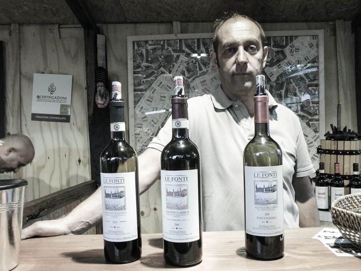 espositori a Panzano in Chianti per Vino al Vino 2013
