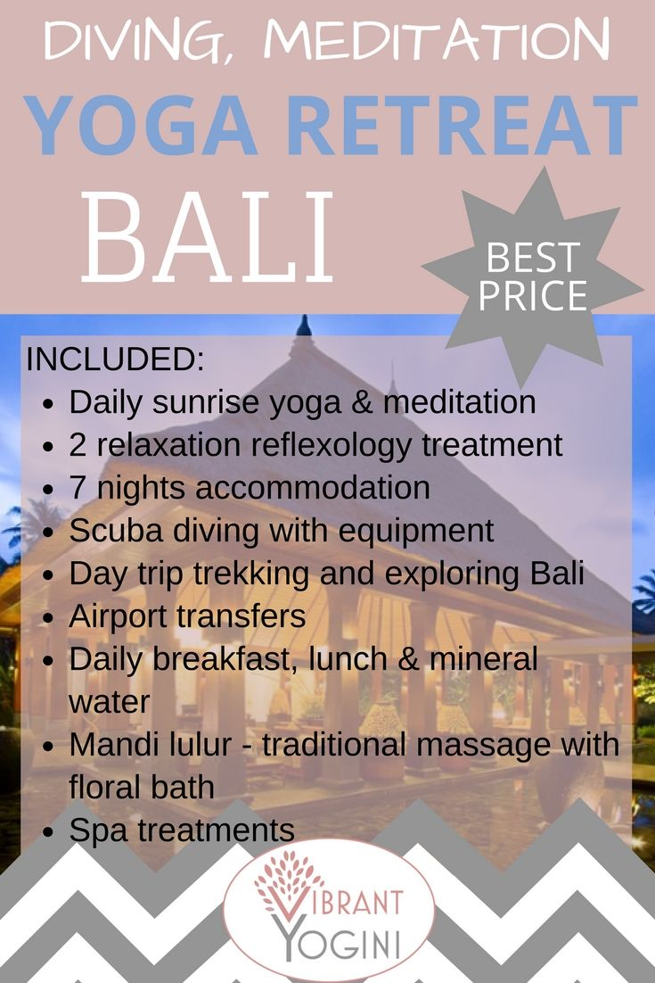 8 Days Diving Meditation And Yoga Retreat In Bali Indonesia Yoga Retreat Bali Yoga Retreat Yoga Holidays