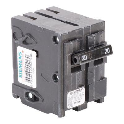 Siemens Siemens QP 20-amp 2 Pole Circuit Breaker | *Lowe's