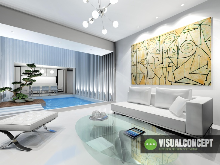 #Interiordesign #intericad Amazing Living Room design with InteriCAD