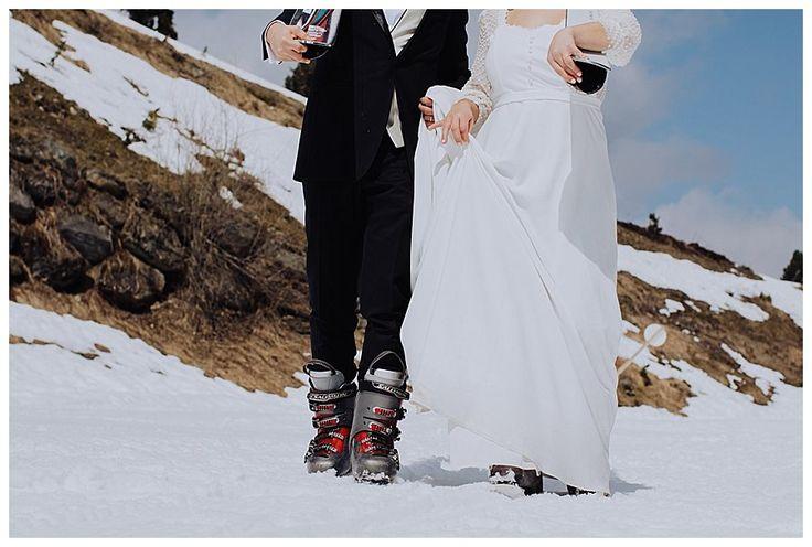 Skihochzeit