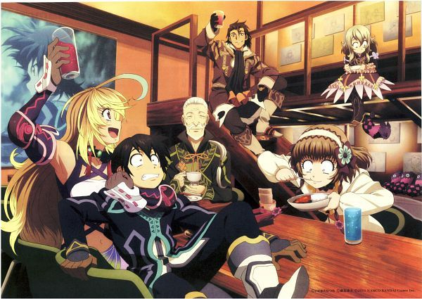 Tags: Anime, Scan, Official Art, Milla Maxwell, Tales of Xillia