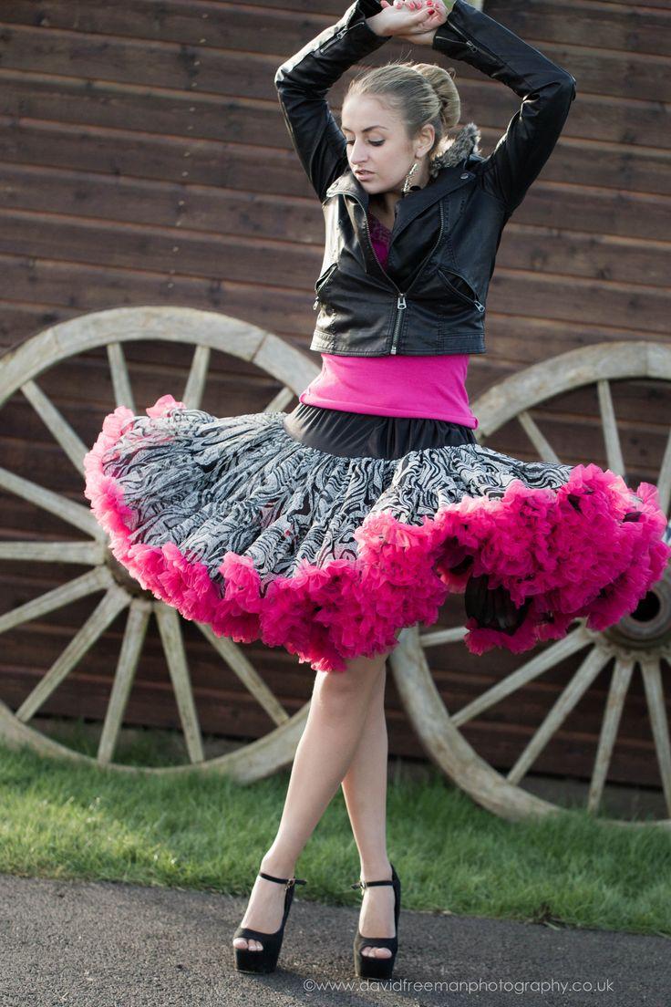 Doris Designs Zebra print skirt
