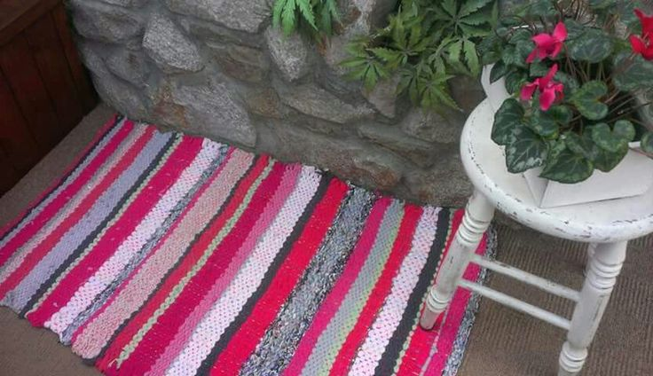 Rag rug #handmade #irish #upcycled