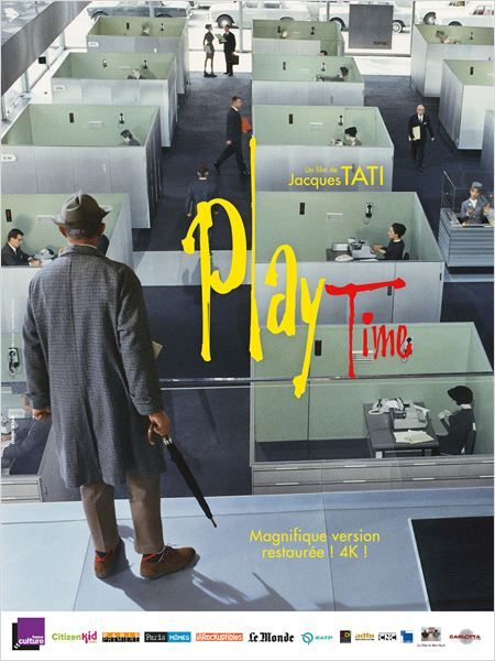 Playtime by Jacques Tati, France