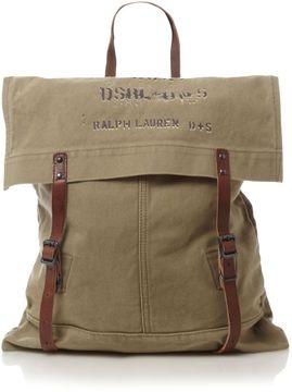 POPSUGAR ShopStyle: Denim & Supply Ralph Lauren Canvas satchel bag