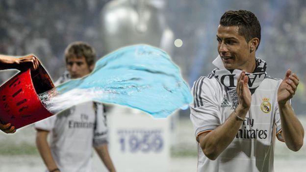 Cristiano Ronaldo aceptó reto de Darren Fletcher y se bañó en agua helada (VIDEO) #Depor