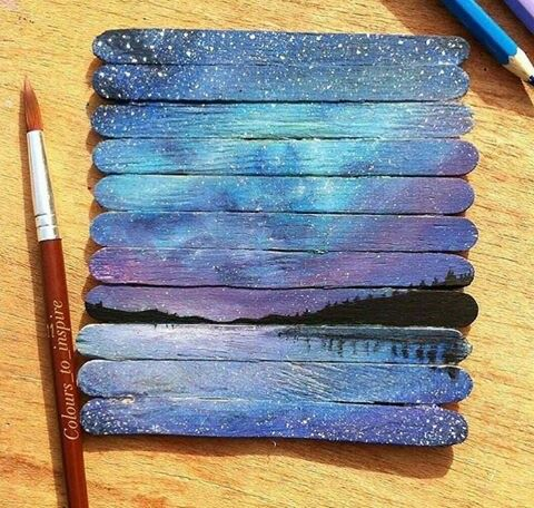 Pretty cool night galaxi