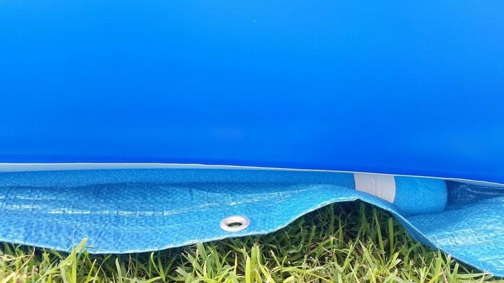 Noodles pools and pool noodles on pinterest for Repurposed swimming pool