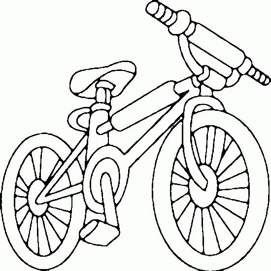bicycle coloring pages | ... vehicles pictures - Picture tags: picture, bike, BMX, coloring, page