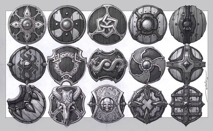 Shield concept art