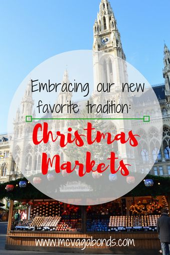 Embracing the Christmas Market experience!