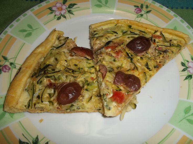 torta salata di zucchine pronta in un attimo