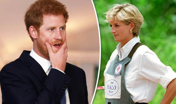 Prince Harry vows to rid world of landmines and continue Diana's legacy | Royal | News | Express.co.uk