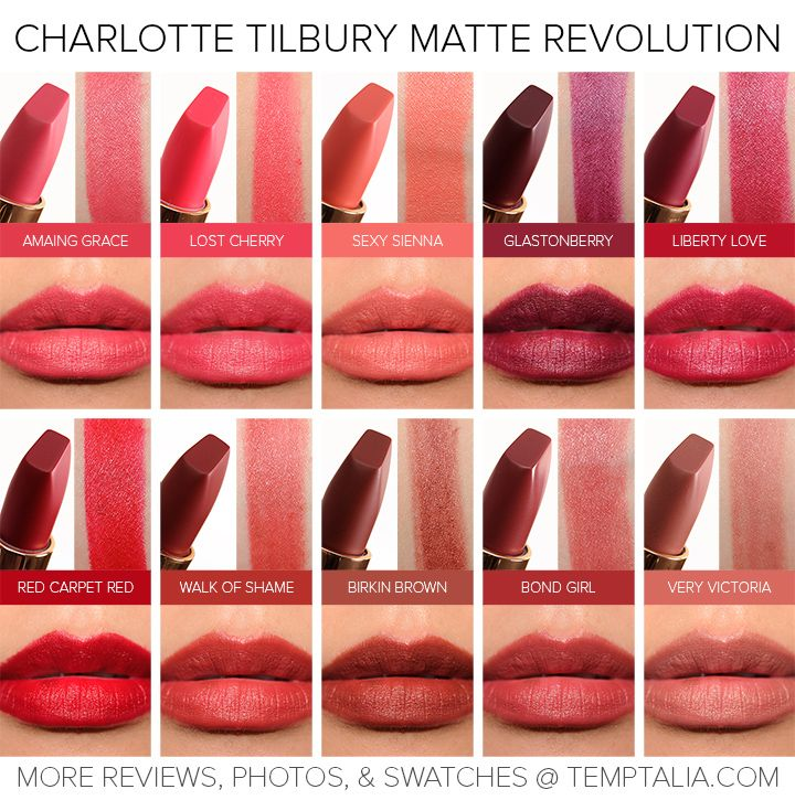 Sneak Peek: Charlotte Tilbury Matte Revolution Lipsticks Photos & Swatches
