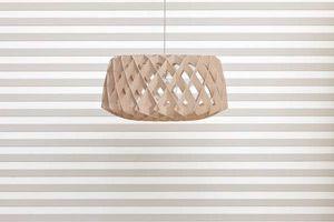 Viiste wood panels by Karell Design and Pilke light by Tuukka Halonen.
