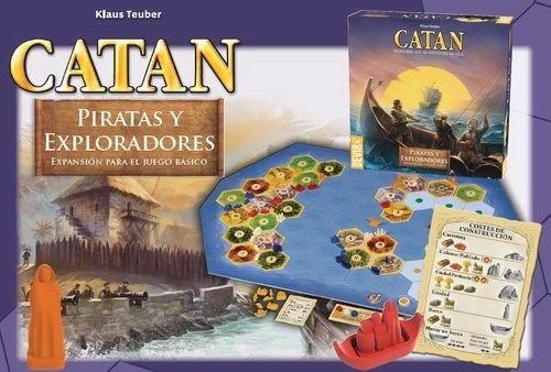 Resultado de imagem para catan piratas e exploradores