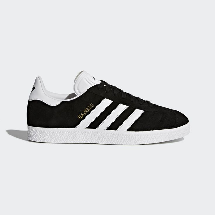 First introduced in 1968 as an indoor soccer trainer, the Gazelle had a sleek shape and sporty details that made it a streetwear classic. These women's shoes are a faithful reproduction of the 1991 Gazelle, echoing the materials, colors, textures and proportions of the vintage style.