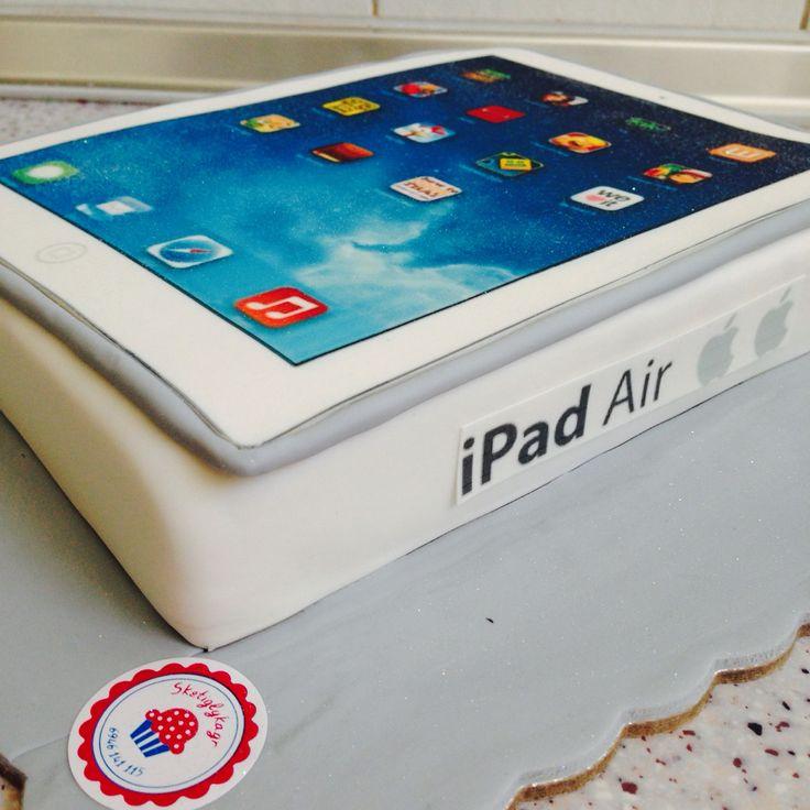 iPad cake by #sketiglyka