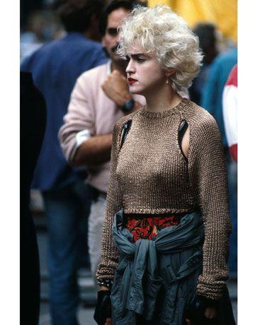Madonna in 1988 - HarpersBAZAAR.com