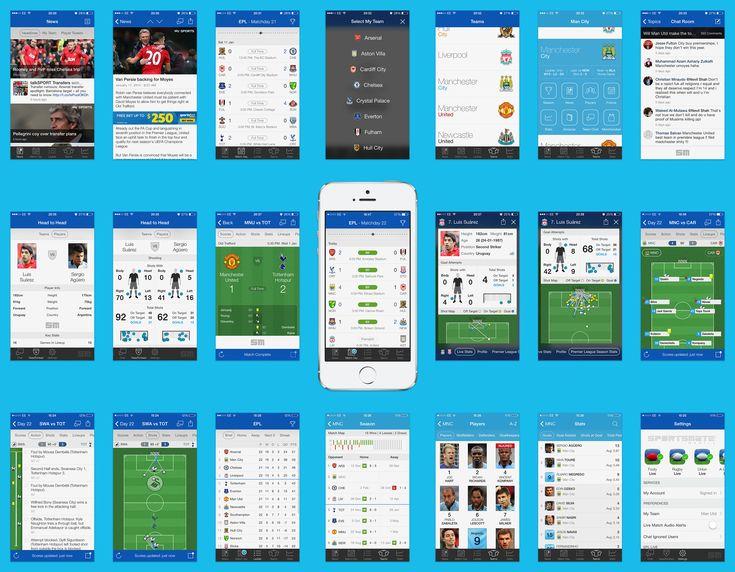 Eplfull soccer football app