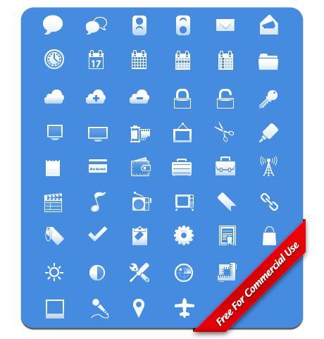 Fresh Free High-Quality Icon Sets  http://www.smashingmagazine.com/2009/09/16/50-fresh-free-hiqh-quality-icon-sets/
