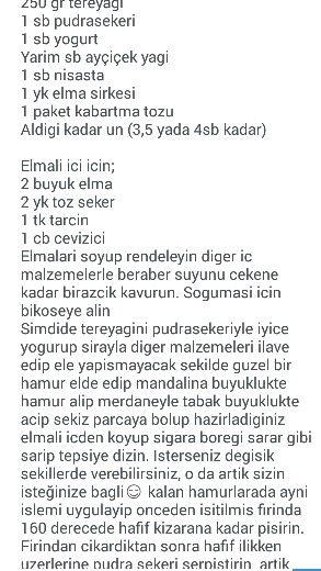 ELMALI KURABİYE