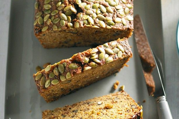 The dynamic combination of carrot and zucchini tastes great in this high fibre and dairy-free cake.