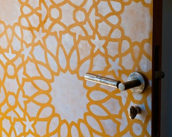 moroccan shapes templates - 17 best images about wall stencil cheaper than wallpaper