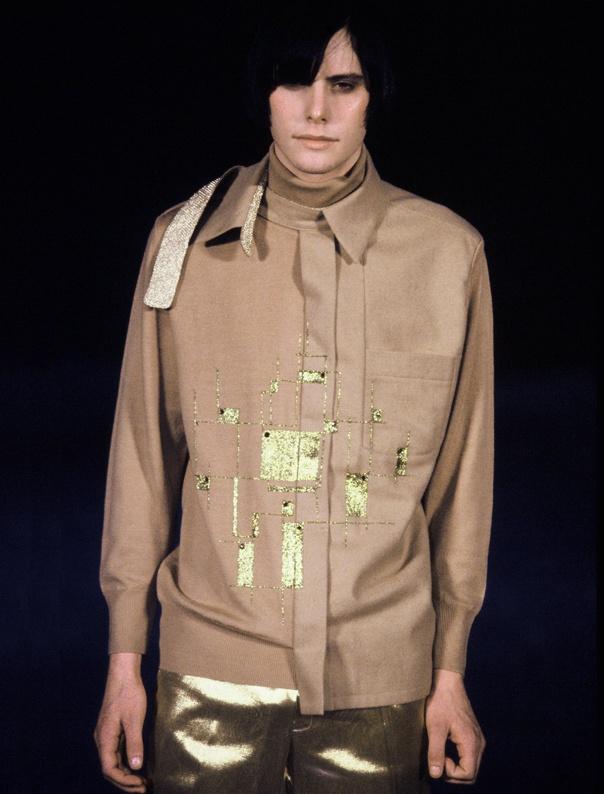 #Fashion - Aziz Bekkaoui - Paris Show - Model Jamie Del Moon