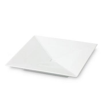 有田HOUEN/KM-A 角皿中 1050yen 薄く、凛としたシャープなデザインの有田焼。