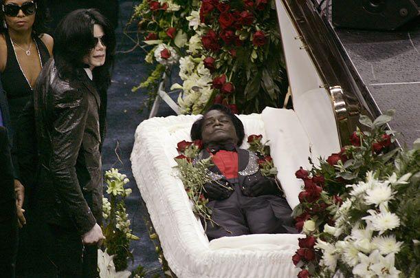 Top 10 Celebrity Funerals - Photo Essays | James brown, Funeral ...