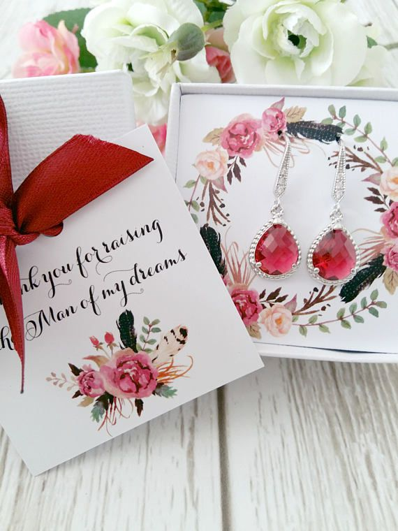 Mother Of The Groom Gift, Gift Boxed Jewelry, Mother of The Groom jewelry, Mother of The Groom Earrings, Thank You Gift, Gift boxed jewelry