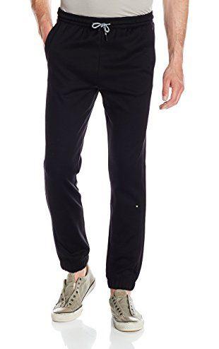 BOSS Green Men's Hadiko Cuffed Jogger Track Pant, Black, XXX-Large ❤ Hugo Boss Men's Contemporary