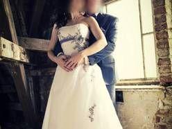 Piękna suknia ślubna, w sam raz dla ceniących urok i delikatność! :)  #slub #wesele #suknia #panmlody #pannamloda