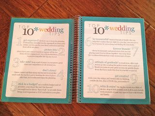 Erin Condren Wedding Planner Review Pictures